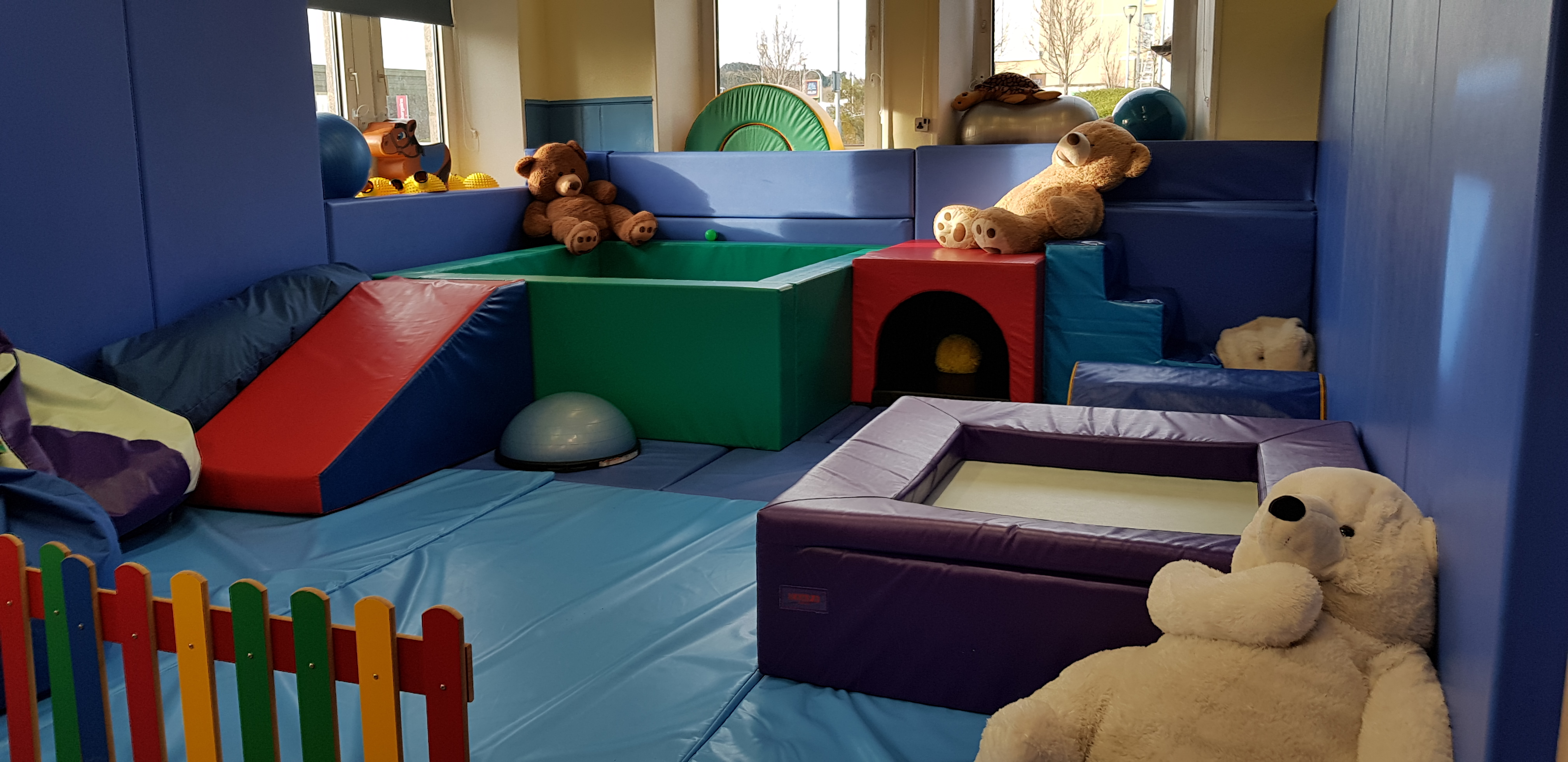 Soft play room